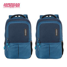 American Tourister - กระเป๋าเป้สะพายหลัง รุ่น TECH GEAR LAPTOP BACKPACK 01 - สี TEAL+TEAL