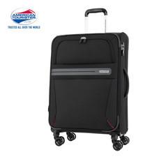American Tourister กระเป๋าเดินทางล้อลาก 29 นิ้ว รุ่น OREGON SPINNER 79/29 EXP TSA - Jet Black
