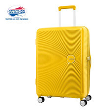 American Tourister กระเป๋าเดินทางล้อลาก 25 นิ้ว รุ่น CURIO SPINNER 69/25 EXP TSA - Golden Yellow