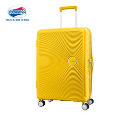 American Tourister กระเป๋าเดินทางล้อลาก 30 นิ้ว รุ่น CURIO SPINNER 80/30 EXP TSA - Golden Yellow