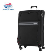 American Tourister กระเป๋าเดินทางล้อลาก 24 นิ้ว รุ่น OREGON SPINNER 67/24 EXP TSA - Jet Black