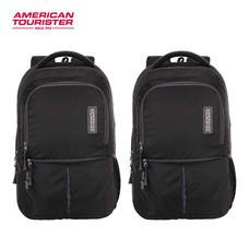 American Tourister - กระเป๋าเป้สะพายหลัง รุ่น TECH GEAR LAPTOP BACKPACK 01 - สี BLACK+BLACK