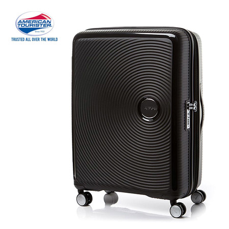 American Tourister กระเป๋าเดินทางล้อลาก 25 นิ้ว รุ่น Curio Spinner 69/25 EXP TSA - Black
