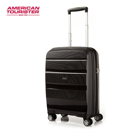 American Tourister กระเป๋าเดินทางล้อลาก 20 นิ้ว รุ่น BON AIR DELUXE SPINNER 55/20 EXP - Black