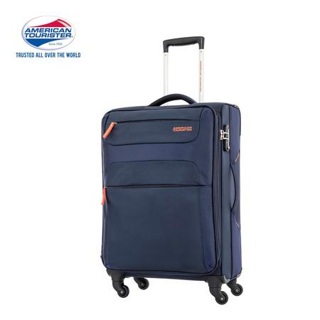 American Tourister กระเป๋าเดินทางล้อลาก 26 นิ้ว รุ่น SKI SPINNER 68/26 TSA - Navy/Orange