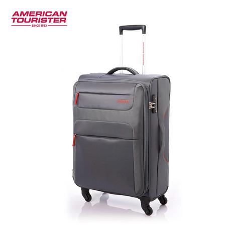 American Tourister กระเป๋าเดินทางล้อลาก 20 นิ้ว รุ่น SKI SPINNER 55/20 TSA - Grey/Red