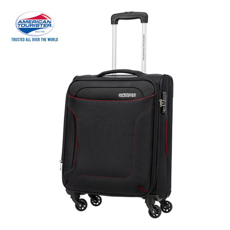 AMERICAN TOURISTER กระเป๋าเดินทาง ขนาด 20 นิ้ว รุ่น CLAYTON SPINNER 56/20 EXP TSA - BLACK