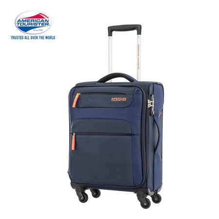 American Tourister กระเป๋าเดินทางล้อลาก 20 นิ้ว รุ่น SKI SPINNER 55/20 TSA - Navy/Orange