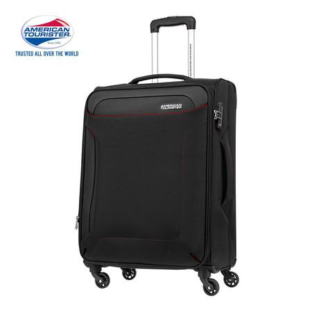 AMERICAN TOURISTER กระเป๋าเดินทาง ขนาด 25 นิ้ว รุ่น CLAYTON SPINNER 69/25 EXP TSA - BLACK