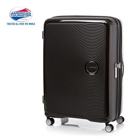 American Tourister กระเป๋าเดินทางล้อลาก 30 นิ้ว รุ่น Curio Spinner 80/30 EXP TSA - Black