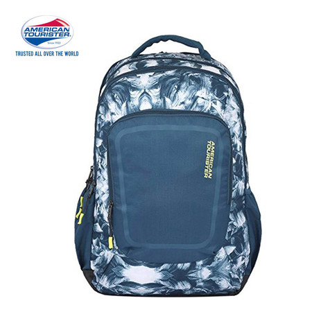 American Tourister กระเป๋าเป้สะพายหลัง รุ่น Zook+ Backpack 01 A - Teal Print