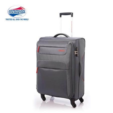 American Tourister กระเป๋าเดินทางล้อลาก 26 นิ้ว รุ่น SKI SPINNER 68/26 TSA - Grey/Red