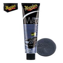 MEGUIAR'S BLACK WAX - 198 กรัม (พร้อมฟองน้ำขัด)