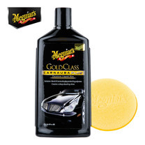 MEGUIAR'S GOLD CLASS Carnauba Plus CAR WAX (Liquid) - 473 มล. (พร้อมฟองน้ำขัด)(G-7016)
