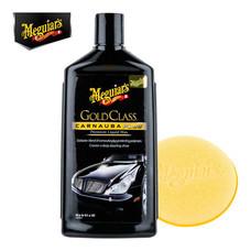MEGUIAR'S GOLD CLASS Carnauba Plus CAR WAX (Liquid) - 473 มล. (พร้อมฟองน้ำขัด)(G-7016)