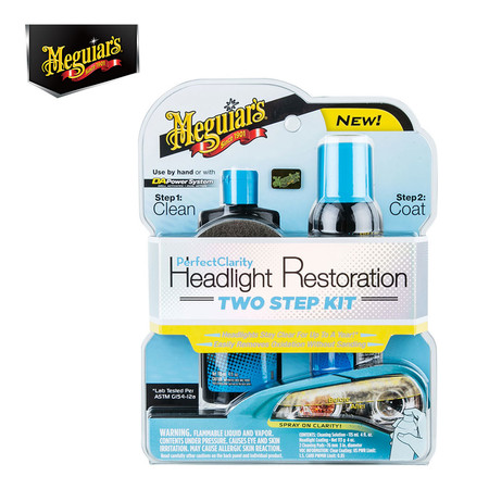 MEGUIAR'S PERFECT CLARITY HEADLIGHT TWO STEP KIT