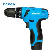 ZINSANO สว่านไขควงไร้สาย Zinsano 14.4V 1.5 Ah รุ่น CL1415LI