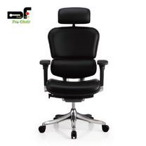 DF Prochair เก้าอี้สำนักงานเพื่อสุขภาพแบบหนัง รุ่น Ergo2 Leather สีดำ