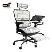 DF Prochair เก้าอี้สำนักงานเพื่อสุขภาพ รุ่น Ergo2 Top Plus สีขาว
