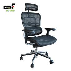 DF Prochair เก้าอี้สำนักงานเพื่อสุขภาพ รุ่น Ergo2 สีดำ
