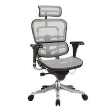 DF Prochair เก้าอี้สำนักงานเพื่อสุขภาพ รุ่น Ergo1 สีขาว