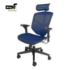 DF Prochair เก้าอี้สำนักงานเพื่อสุขภาพ รุ่น JJ-H/BL สีน้ำเงิน