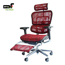 DF Prochair เก้าอี้สำนักงานเพื่อสุขภาพ รุ่น EH-P/R สีแดง