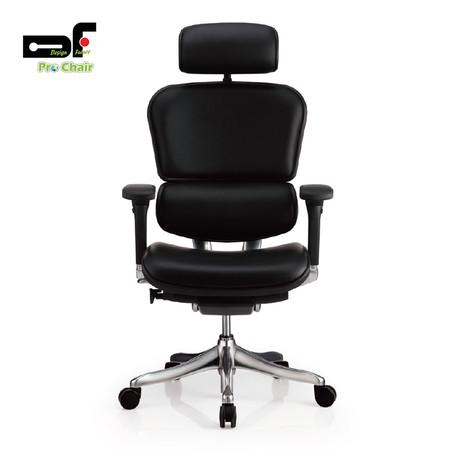 DF Prochair เก้าอี้สำนักงานเพื่อสุขภาพแบบหนัง รุ่น EH-2/Leather/B สีดำ
