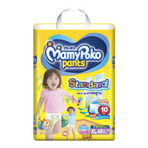 ผ้าอ้อมสำเร็จรูป MamyPoko Pants Standard ไซส์ XL (48 ชิ้น)