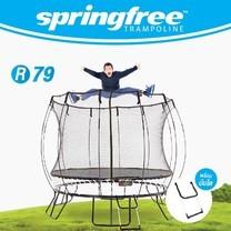 springfree แทรมโพลีนแบบกลม R79 ขนาด 10 ฟุต (3 เมตร)