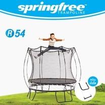springfree แทรมโพลีนแบบกลม R54 ขนาด 8 ฟุต (2.5 เมตร)