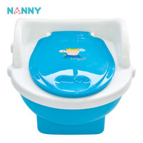NANNY Prince&Princess กระโถนชักโครกเด็ก N470 - Blue