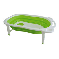 NANNY อ่างอาบน้ำพับเก็บได้ - สีเขียว