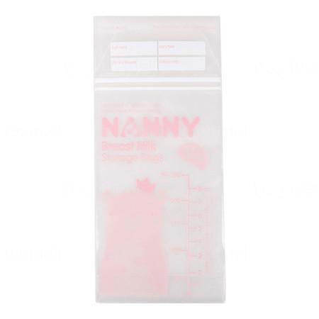 NANNY ถุงเก็บน้ำนมแม่ แพ็ค 40 ถุง x 6 กล่อง