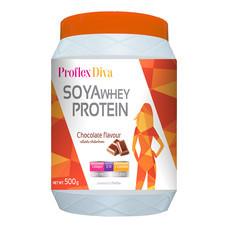 PROFLEX Diva SOYA WHEY PROTEIN Chocolate - 500 g
