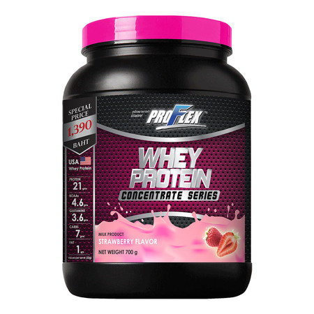 PROFLEX WHEY PROTEIN Concentrate Strawberry - 700 g