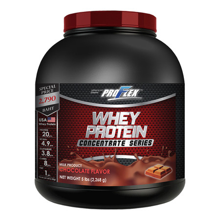 PROFLEX WHEY PROTEIN Concentrate Chocolate - 5 lbs