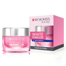 ROJUKISS WHITE PORELESS NIGHT CREAM 45 ml.