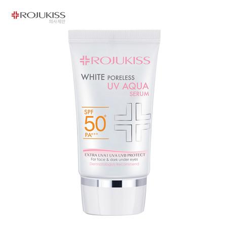 Rojukiss ไวท์ พอร์เลส ยูวี อควา เซรั่ม SPF 50 PA+++ - 30 มล.