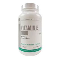 UNIVERSAL VITAMIN E 1000IU 50 Softgels