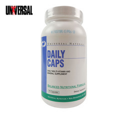 UNIVERSAL DAILY CAPS 75 Capsules