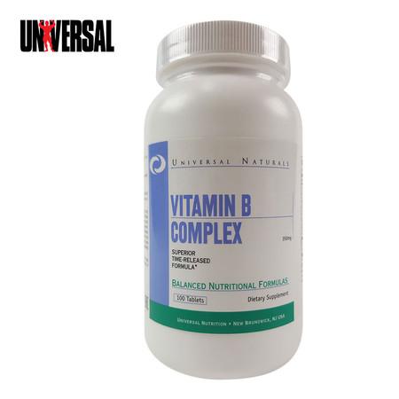 UNIVERSAL VITAMIN B COMPLEX 100 Tablets