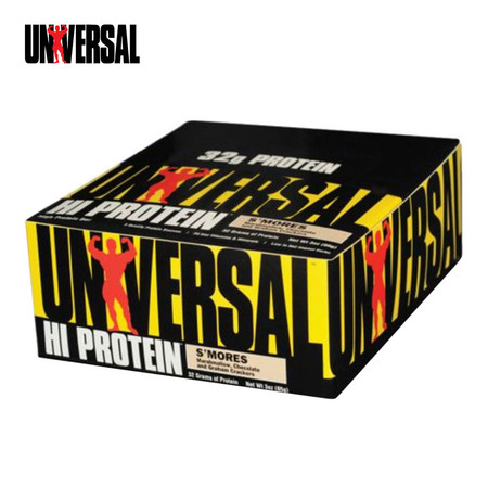 UNIVERSAL HI PROTEIN BAR S Mores 16 bar