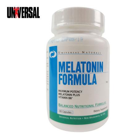 UNIVERSAL MELATONIN FORMULA 60 capsules