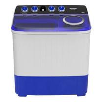 SHARP เครื่องซักผ้าฝาบน Twin Tub รุ่น ES-TW100BL ขนาด 10 กก.