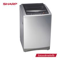 SHARP เครื่องซักผ้าฝาบน รุ่น ES-WX169T-SL ขนาด 16 กก.