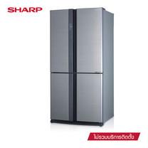 SHARP ตู้เย็น 4 ประตู New Luxio Inverter ขนาด 20.5Q รุ่น SJ-FX74T-SL (Silver)