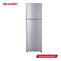 SHARP ตู้เย็น 2 ประตู ขนาด 8.9Q รุ่น SJ-Y25T-SL (Silver)