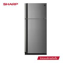 SHARP ตู้เย็น 2 ประตู J-TECH INVERTER ขนาด 20.7Q รุ่น SJ-X58TP-SL (Silver)