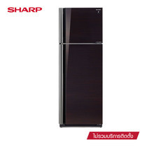 SHARP ตู้เย็น 2 ประตู D-Pro Inverter Series ขนาด 14.4Q รุ่น SJ-X44GP-BK (Black)